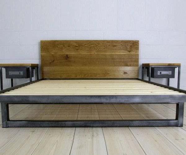 Кровать с прикроватными тумбами Суйя